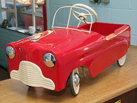 Fully Restored Pedal Car by Ian Taylor